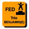 Résultats : AEROBIC FEDERAL TRIO BENJAMIN(E)