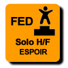 Résultats : AEROBIC FEDERAL SOLO ESPOIR