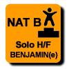 Résultats : AEROBIC NATIONAL B SOLO BENJAMIN(E)