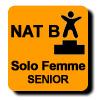 Résultats : AEROBIC NATIONAL B SOLO FEMME SENIOR