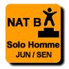 Résultats : AEROBIC NATIONAL B SOLO HOMME JUN/SEN