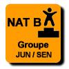 Résultats : AEROBIC NATIONAL B GROUPE JUN/SEN