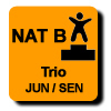 Résultats : AEROBIC NATIONAL B TRIO JUN/SEN