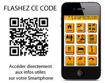 RETROUVEZ TOUTES LES INFOS UTILES sur votre mobile
