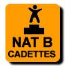 Résultats :  NATIONALE B CADETTE GR