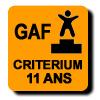 Résultats : CRITERIUM 11 ANS GAF