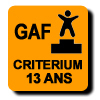 Résultats : CRITERIUM 13 ANS GAF