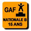 Résultats : NATIONALE B 15 ANS GAF