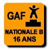 Résultats : NATIONALE B 16 ANS GAF