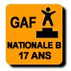 Résultats : NATIONALE B 17 ANS GAF
