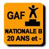 Résultats : NATIONALE B 20 ANS ET MOINS GAF