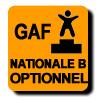 Résultats : NATIONALE B OPTIONNEL GAF