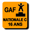 Résultats : NATIONALE C 16 ANS GAF