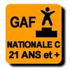 Résultats : NATIONALE C 21 ANS ET PLUS GAF