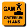 Résultats : CRITERIUM 11 ANS GAM