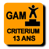 Résultats :CRITERIUM 13 ANS GAM
