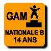 Résultats : NATIONALE B 14 ANS GAM