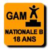 Résultats : NATIONALE B 18 ANS GAM