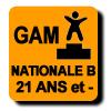 Résultats : NATIONALE B 21 ANS ET MOINS GAM