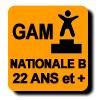 Résultats : NATIONALE B 22 ANS ET PLUS GAM