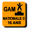Résultats : NATIONALE C 16 ANS GAM