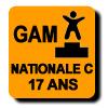 Résultats : NATIONALE C 17 ANS GAM