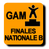 Résultats : FINALE NATIONALE B OPTIONNEL GAM