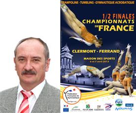 Demi finale sud du championnat de france trampoline - Trampoline clermont ferrand ...