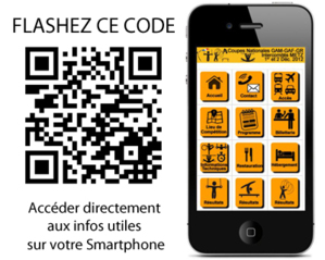 RETROUVEZ TOUTES LES INFOS UTILES et les RESULTATS sur votre mobile