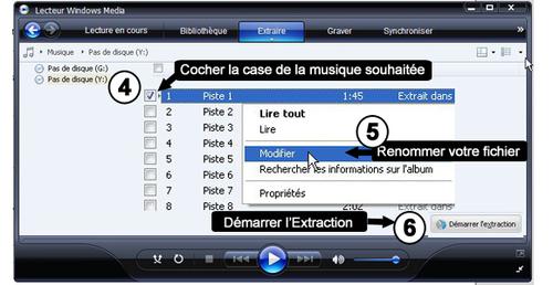 TUTORIEL : Comment extraire votre musique d'un CD pour l'envoyer en format numérique ?