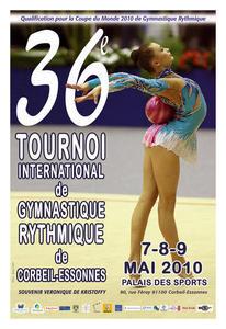 36es TOURNOI INTERNATIONAL DE GYMNASTIQUE RYTHMIQUE de Corbeil-Essonnes
