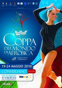 AGWS - Etape de Coupe du Monde de Gymnastique Aérobic - 19 au 24 mai 2010 CONVERSANO (ITA)