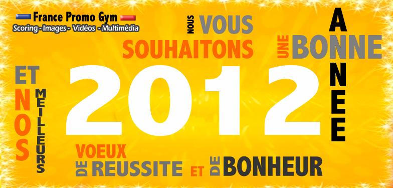 2012, MEILLEURS VOEUX