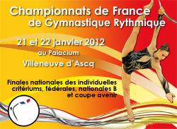 Championnats de France Individuels GR - Tous les résultats du Week-end