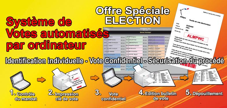 Système de votes automatisés par ordinateur