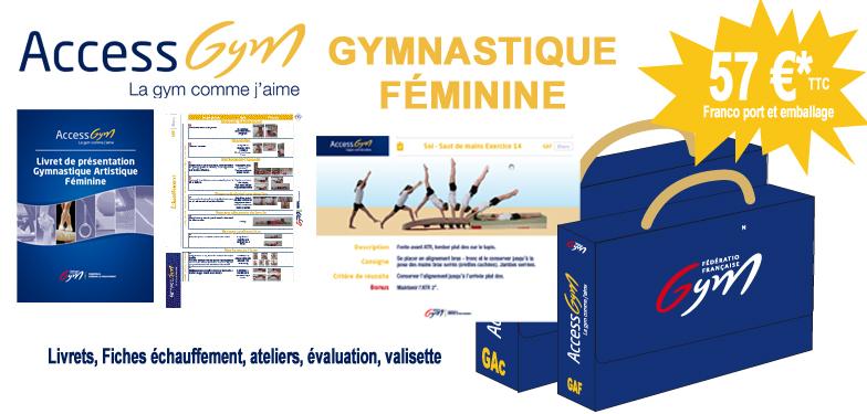 Access Gym Gymnastique Féminine  (3 premiers niveaux)