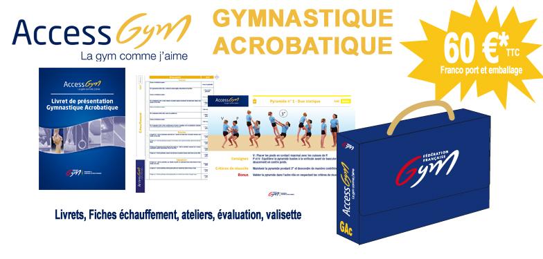 Access Gym Gymnastique Acrobatique (3 premiers niveaux)