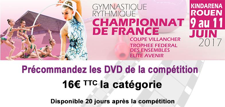 CHAMPIONNAT DE FRANCE Ensembles Trophée Fédéral, Coupe Villancher et Avenir en Gymnastique Rythmique 2017