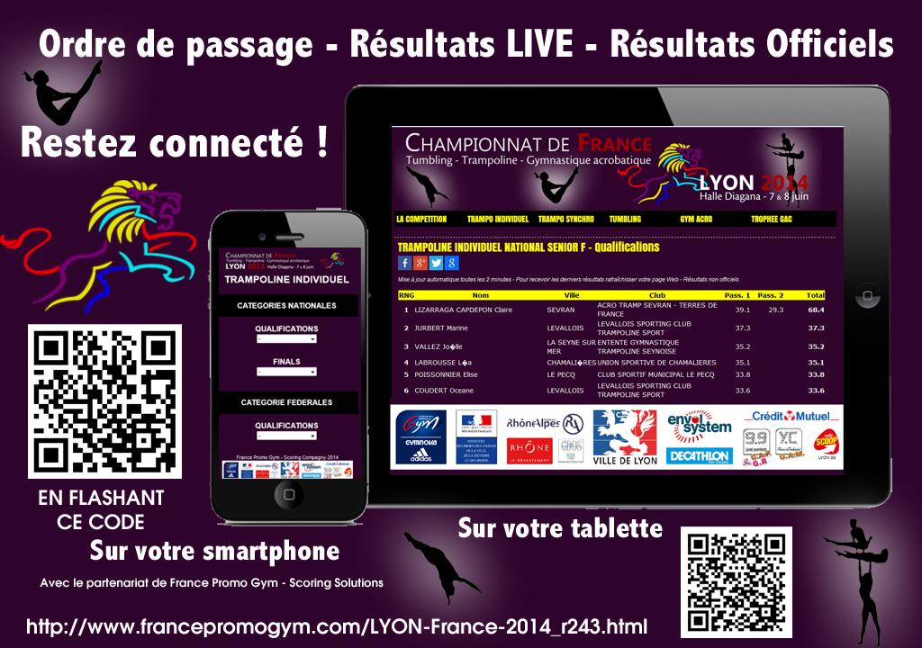 Suivez les Frances 2014 en DIRECT sur votre mobile et tablette