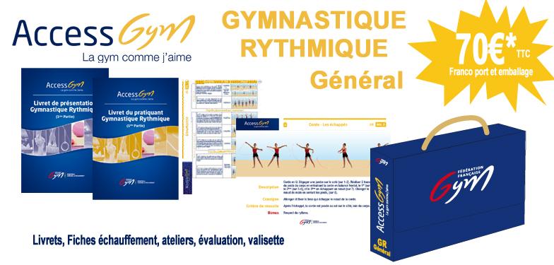 Access Gym Gymnastique Rythmique Général  (3 premiers niveaux)