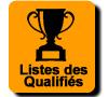 Liste des qualifiés
