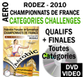 DVD RODEZ 2010  PACK CHALLENGES 2 DVD