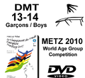 Double Mini-Tramp Boys age 13-14 - Qualifications + Finals