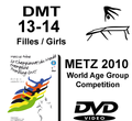 Double Mini-Tramp Girls age 13-14 - Qualifications + Finals