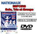 NATIONAUX ESPOIRS - Solo, Trio et Groupe - Chambery 2014
