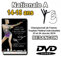 Nationale A 14-15 ans GR BESANCON 2016