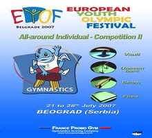 DVD EYOF 2007 - Beograd 21 to 28th - Complete Pack