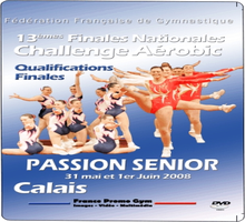DVD des Finales Nationales Challenge Passion SENIOR - Calais 2008