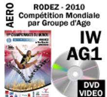 AG1 INDIVIDUAL WOMEN - QUALIF 1 DVD 4th WORLD AGE GROUP COMPETITIONS RODEZ 2010