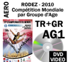 AG1 TRIO GROUP QUALIF 1 DVD 4th WORLD AGE GROUP COMPETITIONS RODEZ 2010